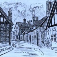 great-budworth-sketch-taken-from-church-001-a2d1d35e79b871fbf367431c0d2c39d828d8375f